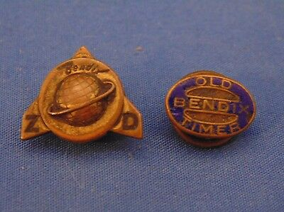 2 - Bendix - South Bend, In - Pins -- Old Timer & Zero Defects
