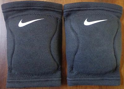 Nike Strike Volleyball DRI-FIT Knee Pads One Pair Adult Unisex Black Large - New
