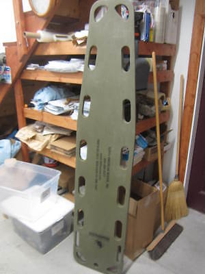 North American Rescue Spine Board Military Full Length Back Board HD
