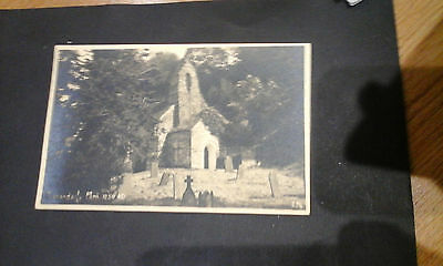 Pembrokeshire:Manordeify,Nr.Kilgerran,Church and cemetery postcard.