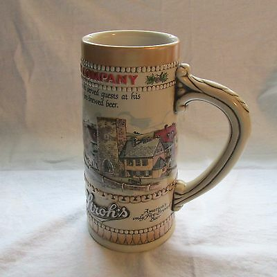 Stroh Beer Heritage Series # 2 Fire Brewed Beer Stein   Undated  # Pr-539