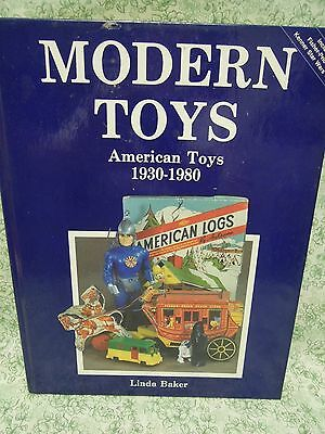 Collectibles bk:  Modern Toys: American Toys 1930-1980 HC;  rm-235