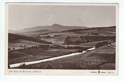 The Don And Benachie Inverurie Aberdeen 20 Aug 1910 Chadwick WR&S Reliable
