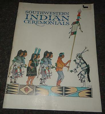 Southwestern Indian Ceremonials Ceremonys Tom Bahti