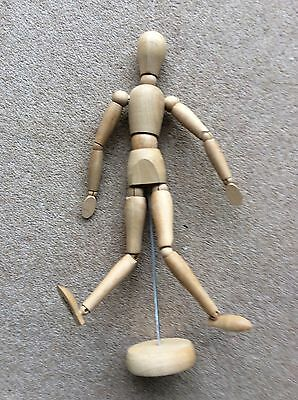 WINSOR & NEWTON ARTICULATED 12in LAY FIGURE BOXED