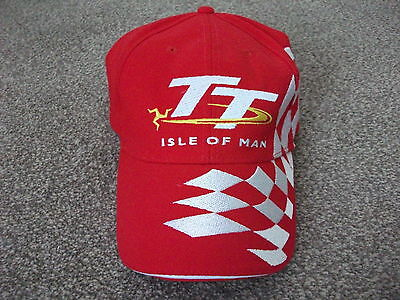 Isle On Man Tt Cap-Road/race-Bought And Never Worn!!!