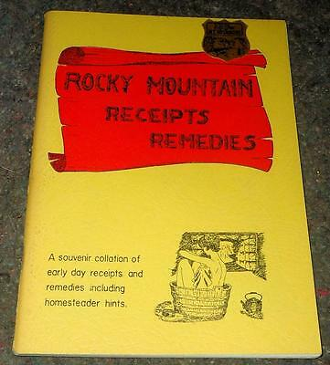 Rocky Mountain Receipts Remedies  Homesteader Hints Pioneers Old West Tonics