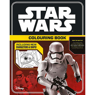Star Wars the Force Awakens Colouring Book (Paperback), Children's Books, New