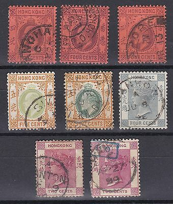HONG KONG  1882+sel.Singapore,Canton,Hankow(IPO chop too),Swatow,Western Branch