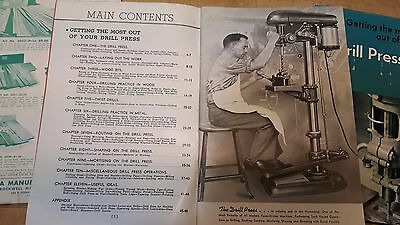 """Delta """"Getting The Most Out Of Your Drill Press"""" & """"The Deltagram Woodworking"""