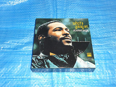 Marvin Gaye What's Going On Empty PROMO BOX JAPAN for Mini LP CD
