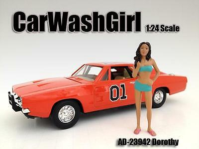 American Diorama car wash girl figure - Dorothy  1:24 G scale  AD 23942