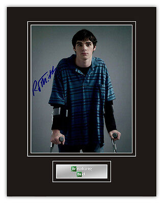 •Sale• Breaking Bad RJ Mitte (Walter White Jr) Signed 14x11 Display