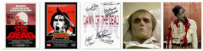 •Sale• Dawn Of The Dead 25th Anniversary multi-signed 10x8 Photo + Extras