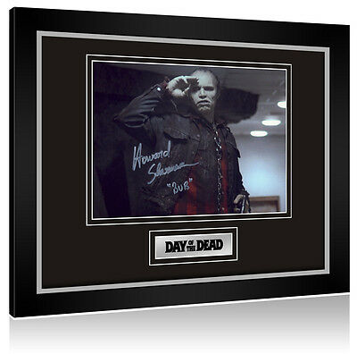 •Sale• Day Of The Dead Howard Sherman (Bub Zombie) Signed Framed Display