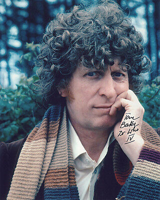 •Sale• Dr. Who Tom Baker (Doctor Who IV) Signed 10x8 Photo