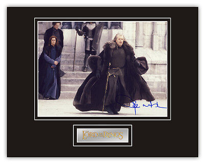•Sale• Lord Of The Rings John Noble (Denethor) Signed 14x11 Display