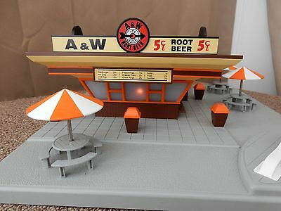 MTH Rail King A & W Root Beer Fast Food Stand # 202