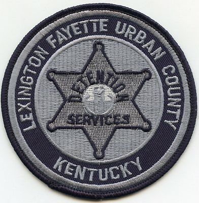 LEXINGTON - FAYETTE URBAN COUNTY KENTUCKY KY DETENTION DOC police PATCH
