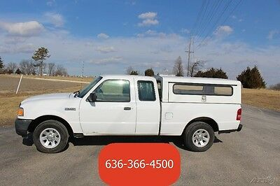 2010 Ford Ranger XL 2010 XL Use 2.3 4 cyl Automatic Cargo Utility Campershell Jobsite Installer Work