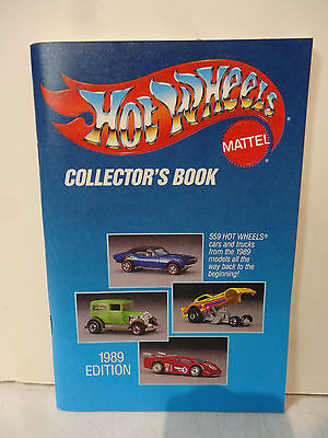 Hot Wheels Collector's Book 1989 Edition Mattel