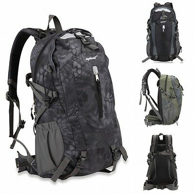 Outdoor Sport Day pack Backpack Waterproof Cover Hiking Bag 25L