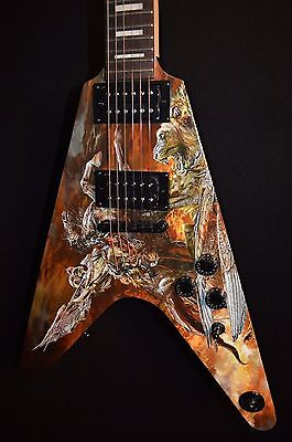 Dean Eric Peterson EPV Hunter V Electric Guitar - Free Shipping!