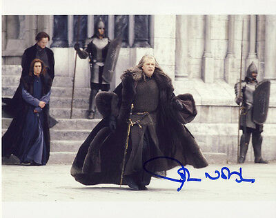 •Sale• The Lord Of The Rings John Noble (Denethor) Signed 10x8 Photo