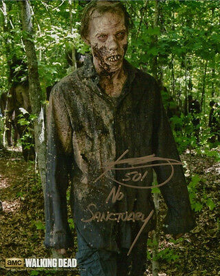 •Sale• The Walking Dead Kent Wagner (No Sanctuary Walker) Signed 10x8 Photo