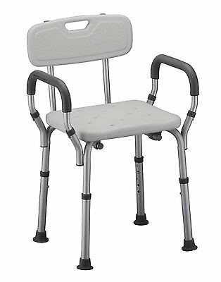 NOVA Medical Products Deluxe Bath Seat with Back & Arms 9026- 2CT