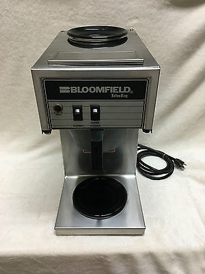 Bloomfield Koffee King 8543 Stainless Steel Commercial Coffee Maker Brewer Pour