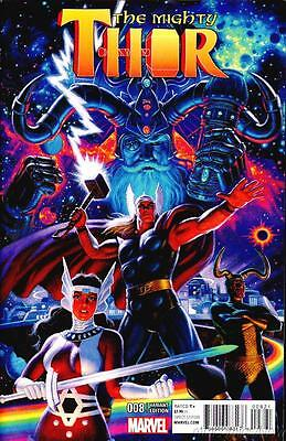 Mighty Thor #8 Hildebrandt Variant All New All Different Marvel 2016