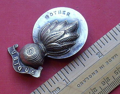Royal Engineers Sweetheart Brooch Mother Probably WW1 World War One