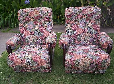 Two Lounge ARM CHAIRS
