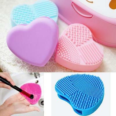 Makeup Brushes Cleaning Scrubber Finger Glove Silicone Cleaner Washing Tool U1