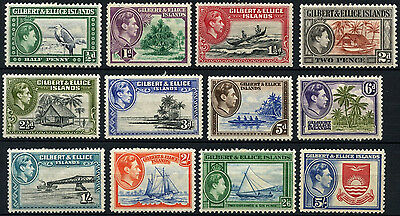 Gilbert & Ellice Islands 1939-55 SG#43-54 KGVI Definitives MH Set #D40897