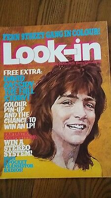 Look-in Magazine DAVID CASSIDY