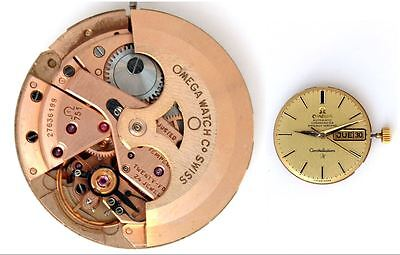 OMEGA 751 original automatic watch movement working great condition (4805)