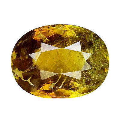 1.510Cts Glorious Luster Green Natural Sphene Oval Loose Gemstones