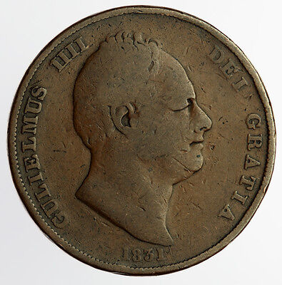 1831 Penny William IV (726)