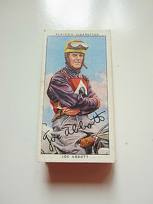 "PLAYERS' ADHESIVE  ""SPEEDWAY RIDERS"" 1937 [s] GREAT CARDS"