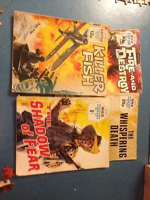 War picture library comics X 4.