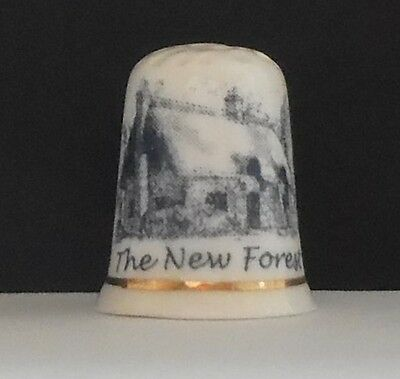 The  New  Forest  ( Not  Bone  China ) Thimble
