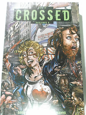 CROSSED # 16 Badlands 9 ( Panini 2017, Hardcover limit. 222 Expl.) NEU