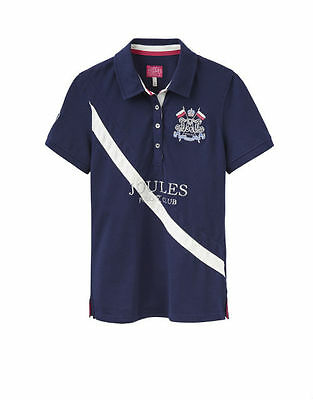 Joules W Liberty Ladies Polo Shirt French Navy