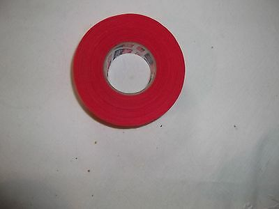 """RED HOCKEY TAPE   1 roll   1""""x25yds.     FIRST QUALITY"""