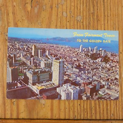 Vintage Postcard Fairmont Hotel And Tower, San Francisco, California