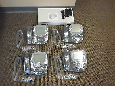 Avaya IP Office Business Voip Phone System 406 V2 (4) 2420 Phones