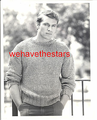 Vintage Jon-Erik Hexum QUITE HANDSOME SEXY '84 TV Publicity Portrait TRAGIC STAR