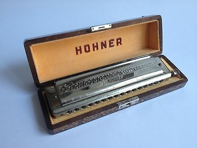 Harmonica HOHNER - 64 Chromanica - 4 chromatic octaves - Professional model